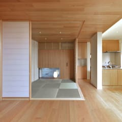 Media room by 株式会社Fit建築設計事務所