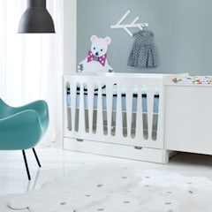Products for Limited Nursery Spaces:  Baby room by Funique Furniture