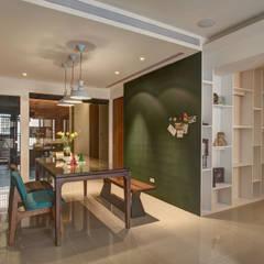 Phòng ăn by 木皆空間設計