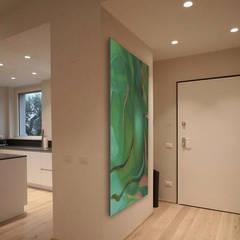 Modern corridor, hallway & stairs by Studio Maggiore Architettura Modern