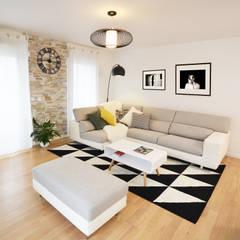 Living room by Sandrine Carré