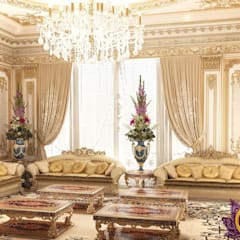 Best ideas living room of Katrina Antonovich: classic Living room by Luxury Antonovich Design