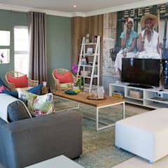 Umhlanga Rocks New Home | Win A Home Show:  Living room by Blaque Pearl Lifestyle