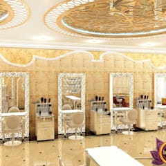 Luxurious beauty salon interior of Katrina Antonovich :  Clinics by Luxury Antonovich Design