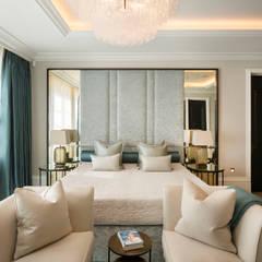 Bedroom :  Bedroom by KSR Architects
