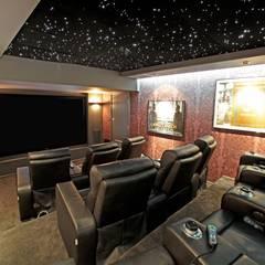 Underground Screening Room:  Media room by HiFi Cinema Ltd.