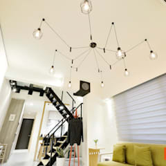 Ruang Keluarga oleh Unicorn Design, Eklektik