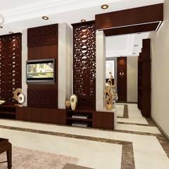 غرفة المعيشة تنفيذ الرواد العرب