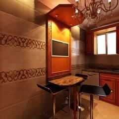 تشطيب فيلا المعادي:  مطبخ تنفيذ الرواد العرب