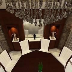 تشطيب فيلا المعادي:  غرفة السفرة تنفيذ الرواد العرب