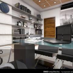 CASA HABITACIÓN - ASTORIA: Estudios y oficinas de estilo  por Enso Arquitectos