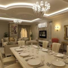 classic Dining room by الرواد العرب