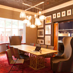 House B Jozi:  Dining room by Redesign Interiors, Eclectic