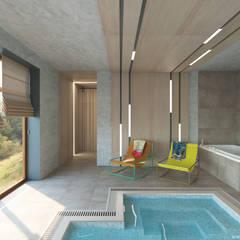 Бассейн в частном доме: Бассейн в . Автор – A&D-interior