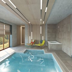 Pool by A&D-interior, Scandinavian
