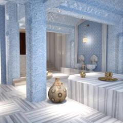 m. rezan özge özdemir – Butik Otel Giriş ve Spa Konsept Çalışması:  tarz Oteller