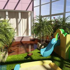 Зимний сад в загородном доме: Зимние сады в . Автор – Студия интерьера Дениса Серова