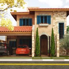 Houses by Leonardo Morato Arquitetura, Mediterranean