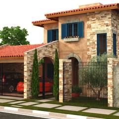 mediterrane Huizen door Leonardo Morato Arquitetura