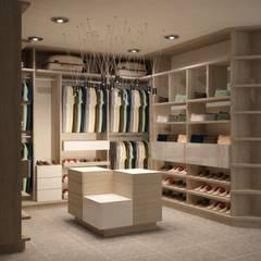 Phòng thay đồ by santiago dussan architecture & Interior design