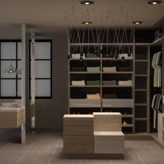 Вбиральня by santiago dussan architecture & Interior design
