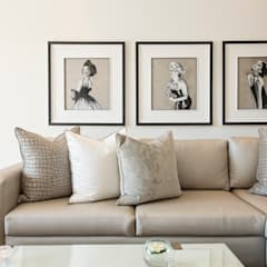 Dunkeld Apartment :  Living room by Tru Interiors, Modern