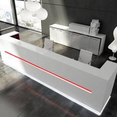 Reception: Studio in stile in stile Moderno di Arredoufficio srl
