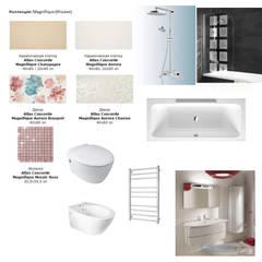 Комплектация детской ванной комнаты: Стены в . Автор – Студия интерьера Дениса Серова