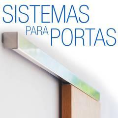 Trilhos - Sistema Externo para portas de correr: Janelas   por Door&Space
