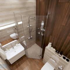 Дизайн-проект трехкомнатной квартиры 100 кв. м в классическом стиле: Ванные комнаты в . Автор – Студия интерьера Дениса Серова