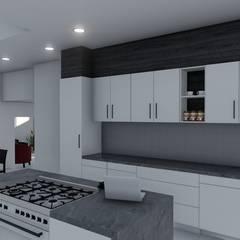 Copperleaf Dream:  Kitchen by Ellipsis Architecture,