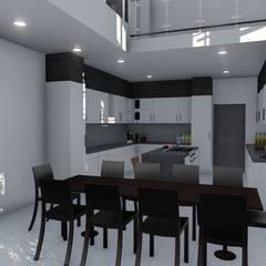Copperleaf Dream:  Kitchen by Ellipsis Architecture, Modern