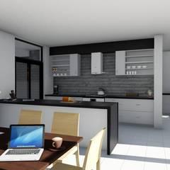 Midstream :  Kitchen by Ellipsis Architecture