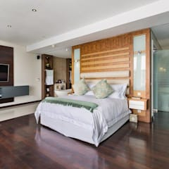 Apartment Robertson - Pembroke:  Bedroom by Covet Design, Modern