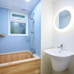 #늘 집에 머물고 싶게 만드는. .34평 리모델링 리뷰 : 제이앤예림design의  화장실