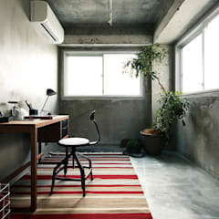 loftofloft: 松島潤平建築設計事務所 / JP architectsが手掛けた書斎です。