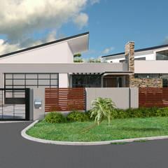 House Mapanza:  Houses by STENA ARCHITECTS