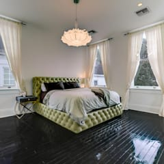 Nashville Avenue Residence, New Orleans:  Bedroom by studioWTA