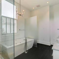 Nashville Avenue Residence, New Orleans:  Bathroom by studioWTA
