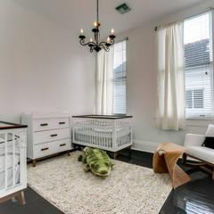Nashville Avenue Residence, New Orleans: eclectic Nursery/kid's room by studioWTA