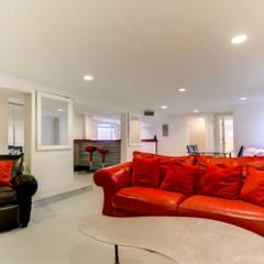 Nashville Avenue Residence, New Orleans:  Study/office by studioWTA