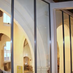 Structural glass wall :  Commercial Spaces by Ion Glass