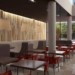 Interior Planta baja: Gastronomía de estilo  por Estudio Bono-Sanmartino