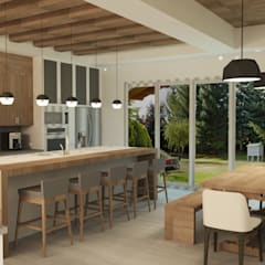 : Cocinas de estilo  por TAMEN arquitectura