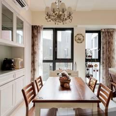 鄉村風 Country Style:  廚房 by iDiD點一點設計