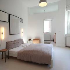 Umbau in Köln:  Schlafzimmer von PlanBar Architektur