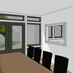 verbouw klassieke villa:  Eetkamer door De E-novatiewinkel