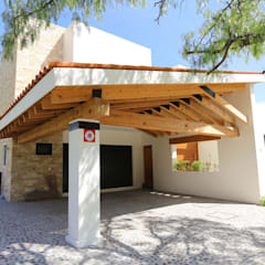 Garage/shed by Arquitectura MAS