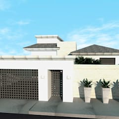 : Casas de estilo  por TAMEN arquitectura
