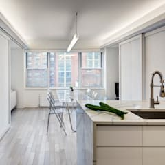Murray Hill Remodel, New York City:  Dining room by Lilian H. Weinreich Architects